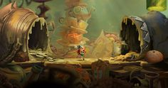 Rayman Legends will include 40 remastered Rayman Origins levels.
