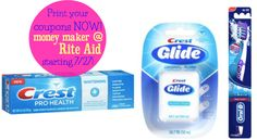 Rite Aid (Starting 7/27):  Money Maker Oral-B & Crest Products!  Print Coupons NOW!