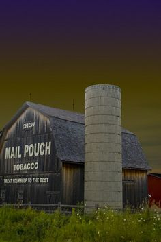 twilight at mail pouch barn | Flickr - Photo Sharing!
