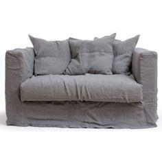 Decotique - Köp Le Grand Air Loveseat, Smokey Granite på Roomly.se