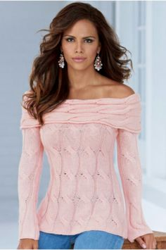 Boston Proper Pink top (Love this top and the earrings!)
