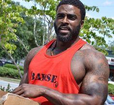 Thank u u r good taste Black Muscle Men, Hot Black Guys, Fine Black Men, Handsome Black Men, My Black Is Beautiful, Fine Men, Gorgeous Men, Hot Guys, Black Man