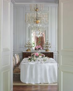 DINING ROOM IN EMILIO TERRY'S PARIS HOME  --  Antique Collectibles from the Greatest Designer You've Never Heard Of | Architectural Digest
