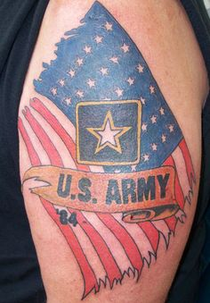 Military Tattoo Designs On Tattoos