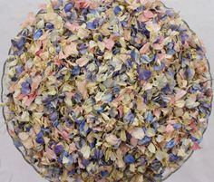 Biodegradable Confetti, Dried Natural Petals, FADED VINTAGE BLEND