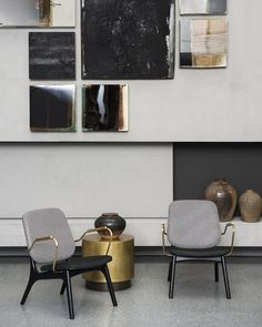 Nabuck Charcoal and Texture Day Thick Line leather upholstery. Rivestimento in pelle Nabuck Charcoal e Texture Day Thick Line Baxter Italia, Interior Paint Colors, Interior Design, Contemporary Wallpaper, Single Sofa, Lounge Sofa, Storage Design, Small Tables, Kids Furniture