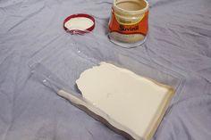 Sala de Estar Cinza, testando, teste na parede, latinha, tinta, suvinil, amarelo, açúcar caramelizado, nozes, açúcar orgânico, curry, cores
