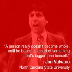 coached by jim valvano died jimmy Nc State Basketball, Basketball Quotes, Football Sayings, Basketball Stuff, Jimmy V Quotes, Cool Words, Wise Words, Jim Valvano, Sign O' The Times