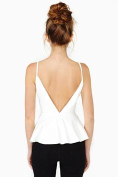 Obsessed with peplum.