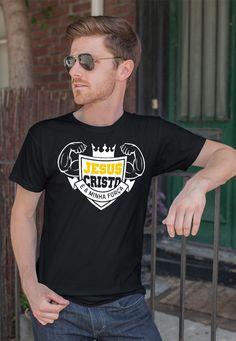 Camiseta Jesus Cristo é a minha Força