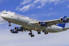 A340 d'Aerolineas Argentinas   Flickr - Photo Sharing!