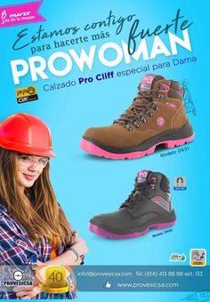 Zapatos de seguridad industrial. Hiking Boots, Shoes, Fashion, Industrial Safety, Gloves, Sweater Vests, Over Knee Socks, Zapatos, Walking Boots