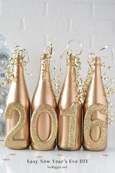 Easy New Year's Eve DIY Decor