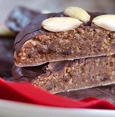 Vegane Lebkuchen mit Schokolade