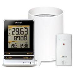 digital wireless rain gauge temperature thermometer weather station