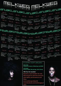 Melkweg poster door Olico M