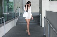 Averie Nicole Blog | Suede- The New Fall Trend | Suede Shorts | Steve Madden | Lace-up Heels | www.averienicole.com