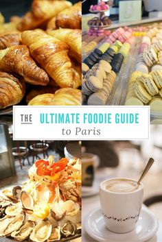 Paris may be the global capital of fashion but it is also the capital of gourmet food. But with so many options available,you may feel a little at loss. So I made a guide with the best foodie experiences in Paris. Don't leave Paris without trying these!