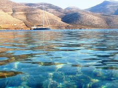 Island Nikouria on the coast of Amorgos, in the Cyclades, in Greece Myconos, Greek Beauty, Greece Islands, Beautiful Places In The World, Ancient Greece, Beautiful Buildings, Greece Travel, Santorini, The Dreamers