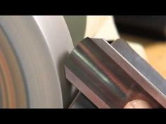 How to Sharpen a Spindle Roughing Gouge