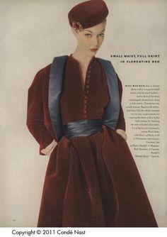 Vogue Sep 1, 1951 pp. 190.