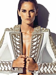 Izabel Goulart by Nico for Harper's Bazaar Spain April 2012