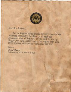 CEst La Vie Diy Hogwarts Acceptance Letter  Harry Potter