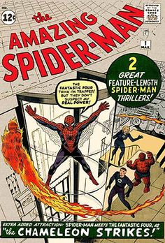 Spider-Man (Marvel Character, first appeared in 1963).