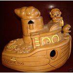 Tugboat Cookie Jar by Twin Winton