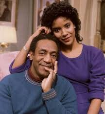 Bill Cosby and Phylicia Rashad....Beautiful on tv.