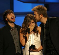 Remember the Time Little Big Town Presented Lady Antebellum With Their First ACM Award? Irish American, American Country, Gift For Music Lover, Music Lovers, Charles Kelley, Little Big Town, Remember The Time, Lady Antebellum, Free Youtube