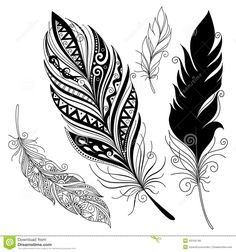 feather design - Google Search
