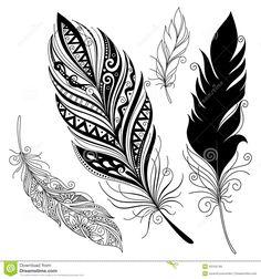 Decorative Tribal Wave Tattoo Design photo - 5