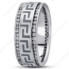 DIAMOND WEDDING BAND  Available as a special order.