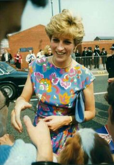 31 July 1992 visiting Wolverhampton, West Midlands. Diana was in town for the opening of the city's police headquarters on Bilston Street and arrived as tabloid speculation over her private life was reaching its peak.
