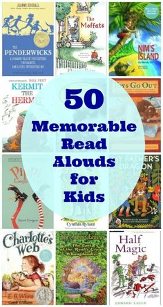 An outstanding list of books that will inspire imagination, adventure and memorable read aloud times!