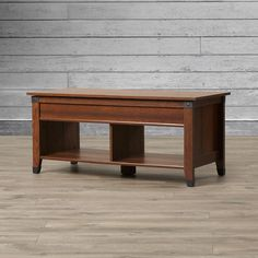 Loon Peak Newdale Coffee Table with Lift Top