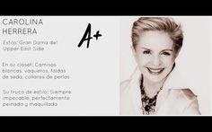 Carolina Herrera at El blog de Malules