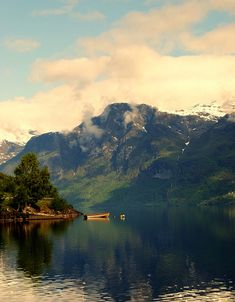Stryn, Sogn og Fjordane, Norway.  It is just as beautiful as this pic. Hope to go back some day.