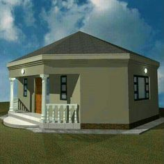 Row House Design, Best Modern House Design, Patio Design, Round House Plans, Bedroom House Plans, Dream House Plans, Single Storey House Plans, Yurt Home, House Plans South Africa