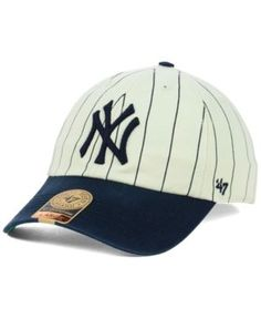 f5d3dc1ea74  47 Brand New York Yankees Pinstripe Franchise Cap - White Navy XL Yankees  Outfit