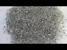How to Make your own crushed Glass Mirror cheap   Diy Crushed Glass   crushed glass diy - YouTube Broken Mirror Diy, Broken Mirror Projects, Broken Glass Crafts, Broken Glass Art, Diy Mirror, Mirror Art, Mirror Glass, Diy Party Essentials, Glitter Wall Art