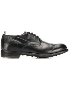 Officine Creative lace-up Derby shoes - Black Leather And Lace, Black Leather, Black Shoes, Men's Shoes, Officine Creative, Derby Shoes, Low Heels, Oxford Shoes, Women Wear