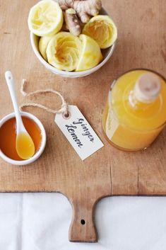 Meine natürliche Wunderwaffe für die fiese Erkältungszeit: Ingwer-Zitronen-Sirup, einfach selbstgemacht (ohne Thermomix und ohne Entsafter) – Unterfreundenblog