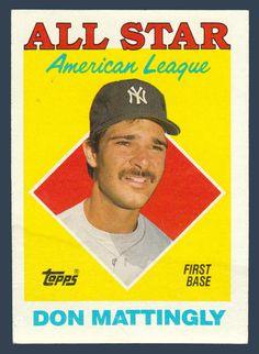 Don Mattingly # 386 - 1988 Topps Baseball