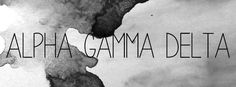 Geneologie | Greek Life | Sorority | Sisterhood | Freebie | Facebook Cover Photo | Alpha Gamma Delta | AGD | Alpha Gam | Free Download