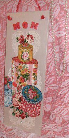 For Mom  Feminine Home Decor by mareestreasures on Etsy, $16.00