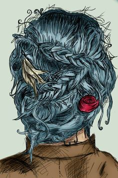 We confess. It's reeeeally hard not to be envious of Karou's awesome hair sometimes. This oldie (but goodie) from Deviant Art's xPsychedelicPsychox reminds us why. See more from this talented artiste...