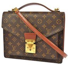 Louis Vuitton Monceau With Strap Dustbag Shoulder Bag $525