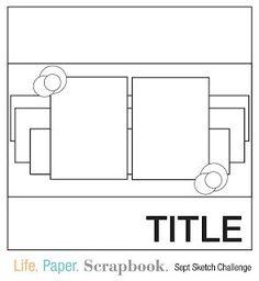 Life.Paper.Scrapbook : sketch de septembre